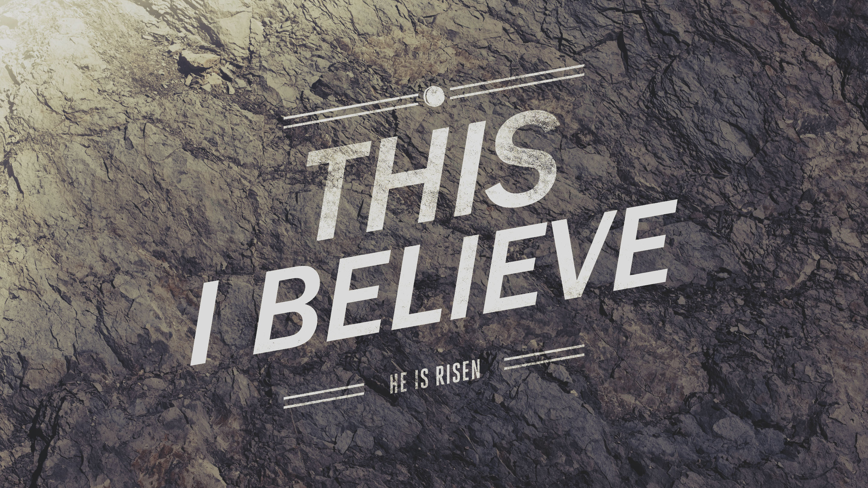 This I Believe-Peter and John(Easter 2016)